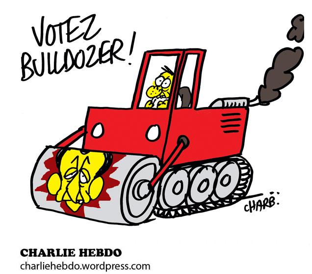 Votez Bulldozer!